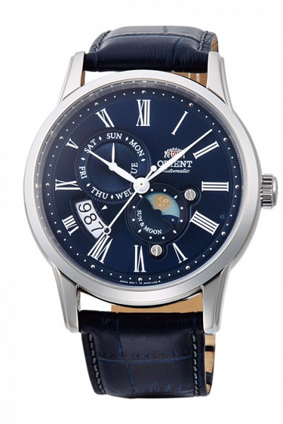 ORIENT Sun & Moon Classic Automatic Sapphire Collection RA-AK0005D (RN-AK0004L)
