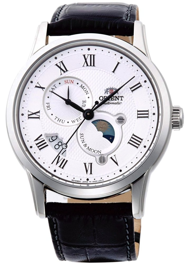 ORIENT Sun & Moon Classic Automatic Sapphire Collection RN-AK0005S ( AK00002S)