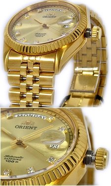 ORIENT Oyster Automatic Sapphire Collection SEV0J001G
