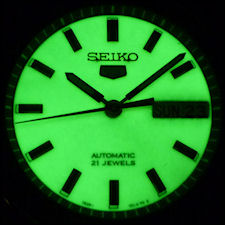 SEIKO 5 Classic Automatic LumiBrite Collection SNKH97K1