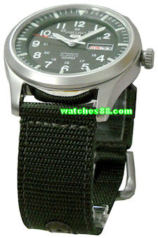 Seiko 22mm Genuine Nylon Strap for SNDA20, SNDA21, SNDA23, SNDA25, SNDA57, SNZG07, SNZG09, SNZG11, SNZG13, SNZG15 & etc. Color: Green Code: 4A212JL