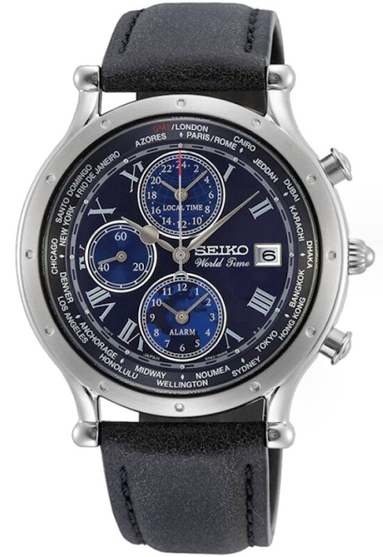 SEIKO GMT World Time 30th Anniversary Limited Edition SPL059P1