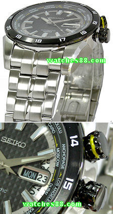 SEIKO Superior World Timer 100M Automatic SRP037K1