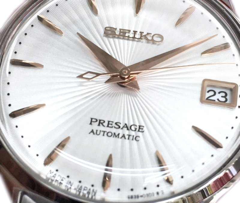 SEIKO PRESAGE Ladies Cocktail - Spritzer SRP855J1 (SARR025)