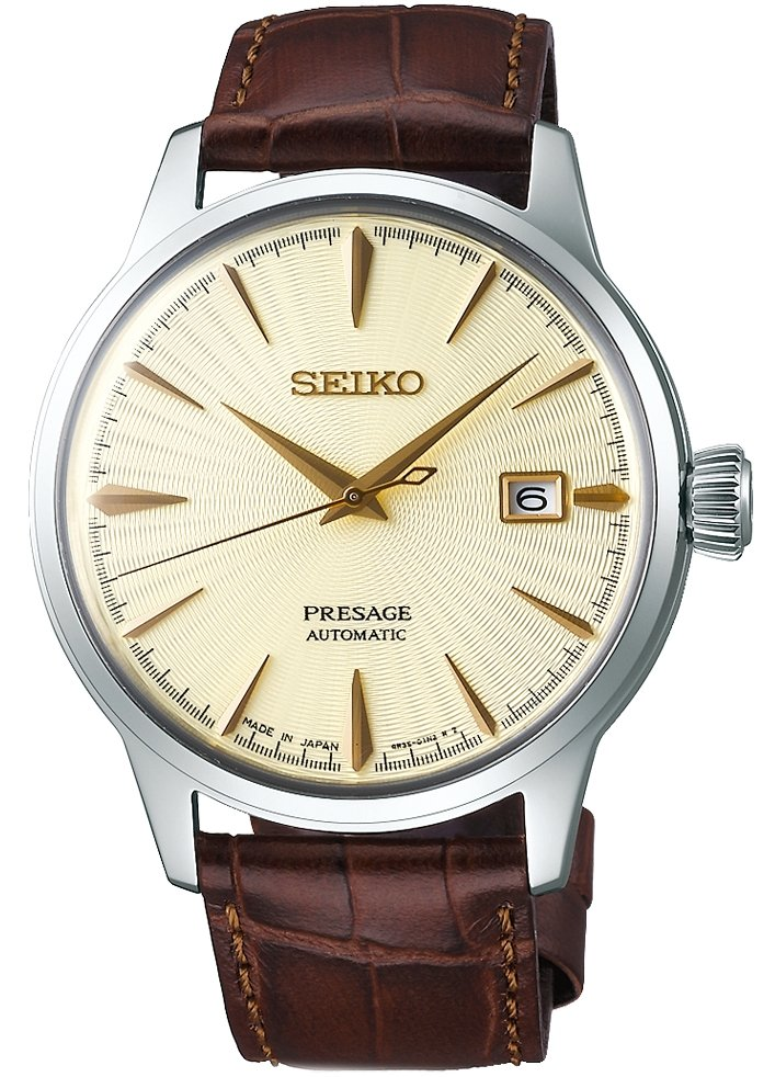SEIKO PRESAGE Cocktail - Golden Champagne SRPC99J1