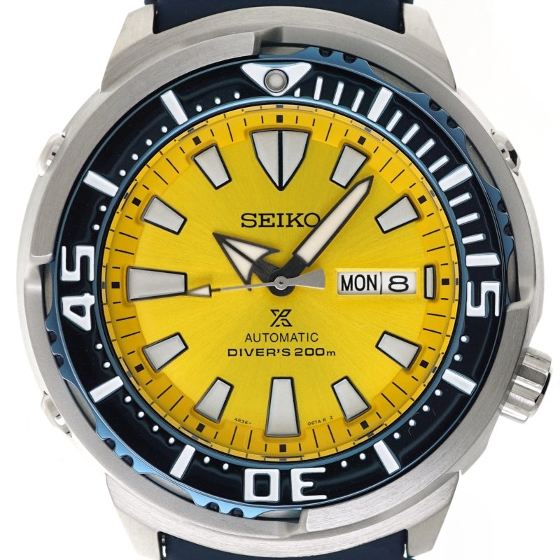 SEIKO PROSPEX Yellow Butterflyfish Limited Edition 2200pcs Diver's SRPD15K1