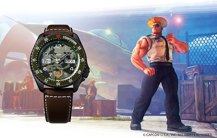 SEIKO 5 Street Fighter V Limited Edition 9,999pcs Automatic SRPF21K1