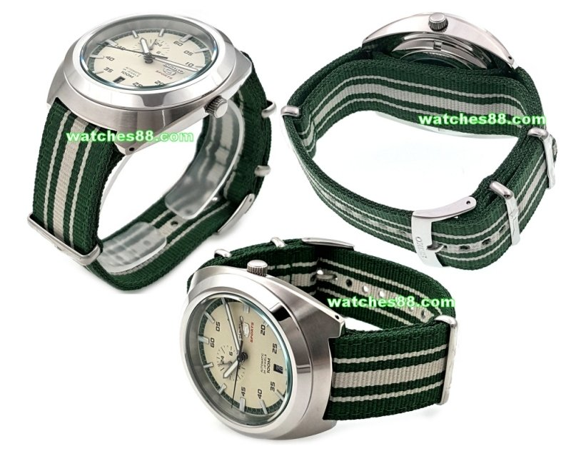 SEIKO 22mm Genuine Nato Nylon Strap for SSA285K1 Code: L0FP013J0