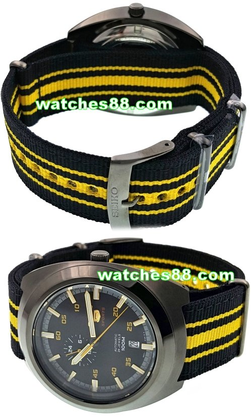 SEIKO 22mm Genuine Nato Nylon Strap for SSA289K1 Code: L0FP012J0