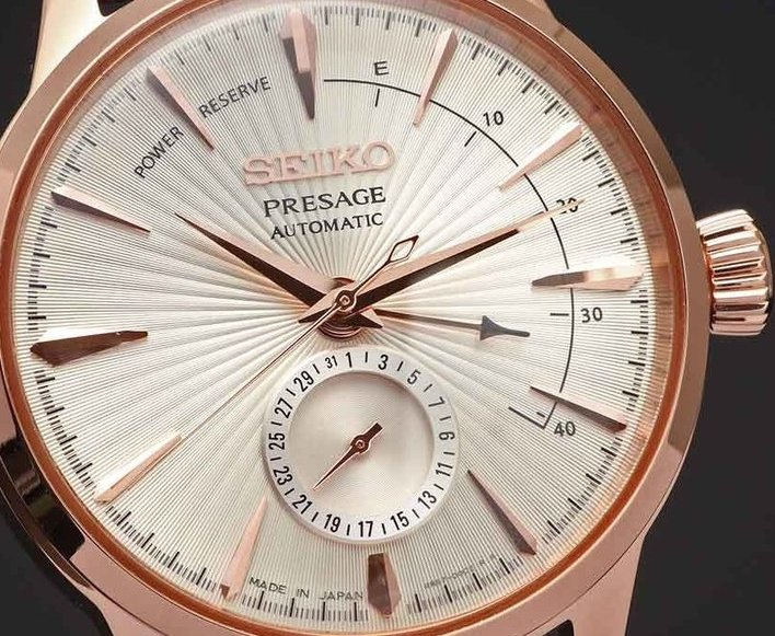 SEIKO PRESAGE Cocktail - Sidecar Power Reserve SSA346J1 (SARY082)