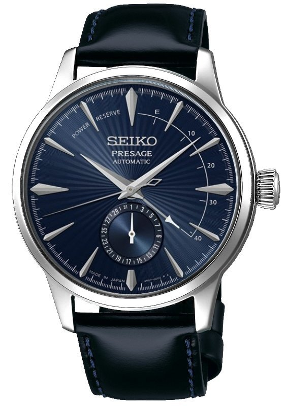 SEIKO PRESAGE Cocktail - Blue Moon Power Reserve SSA347J2