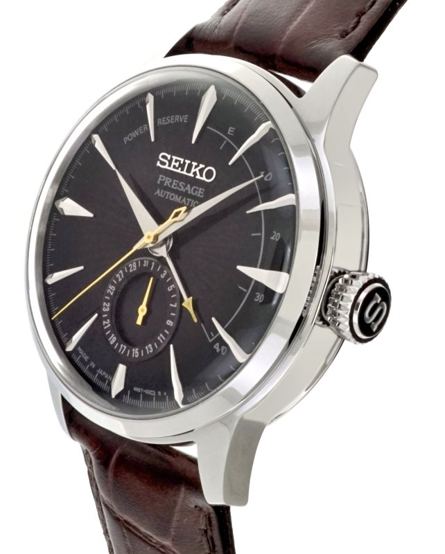SEIKO PRESAGE Cocktail - Black Cat Martini Power Reserve SSA393J1