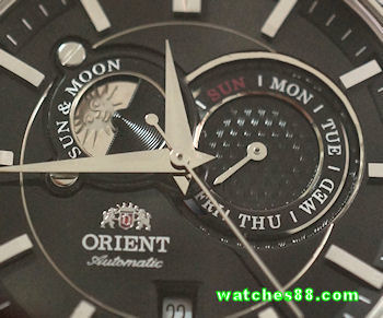 ORIENT Sun & Moon Classic Automatic Sapphire Collection ET0P003B