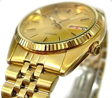 SEIKO 20mm Gold plated stainless steel bracelet for SNXJ94K1 Code: G1341G