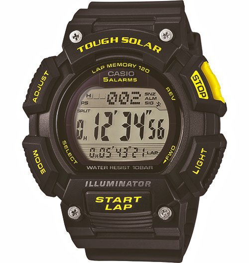 CASIO Tough Solar Runners Digital STLS110H-1C